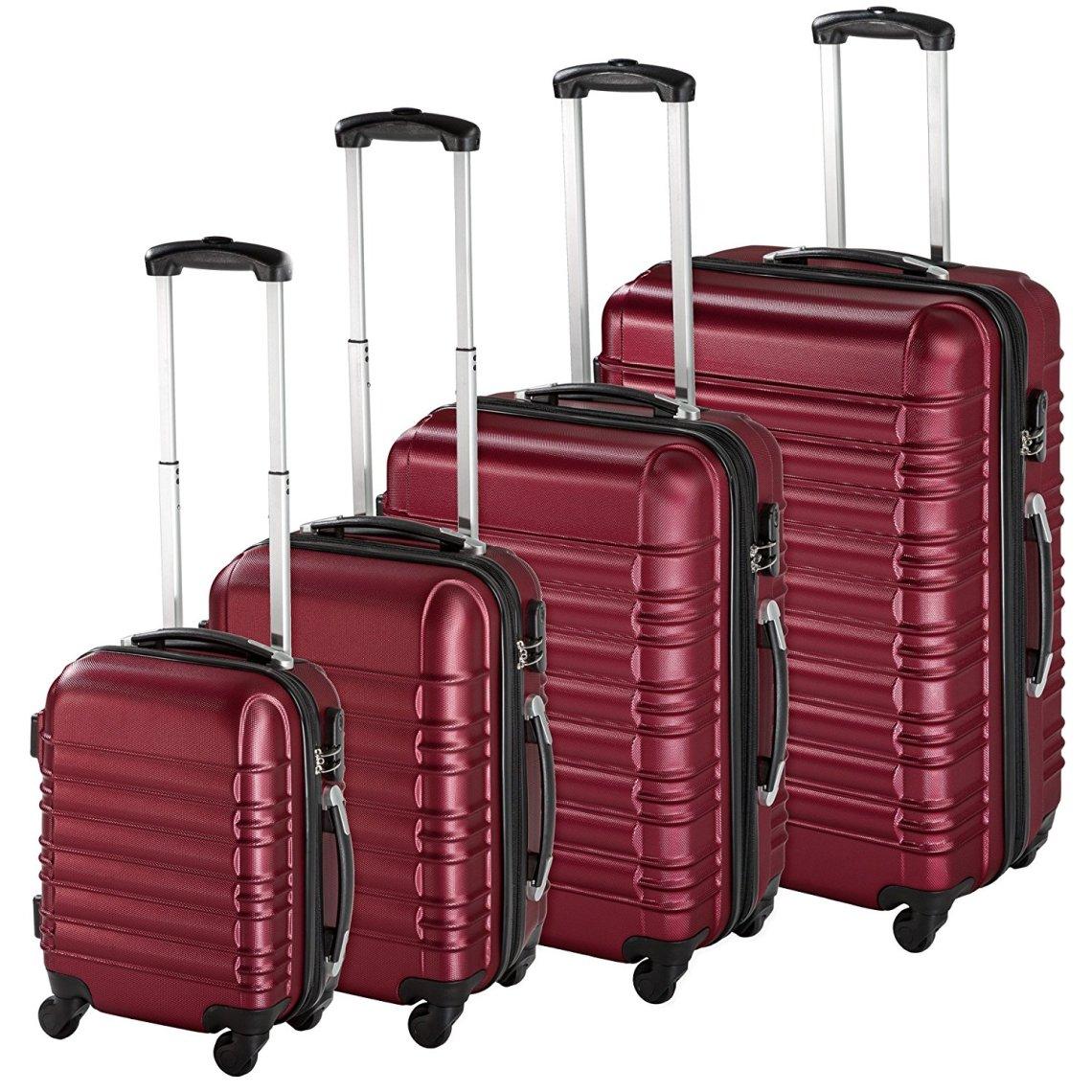 Juego de 4 maletas de viaje